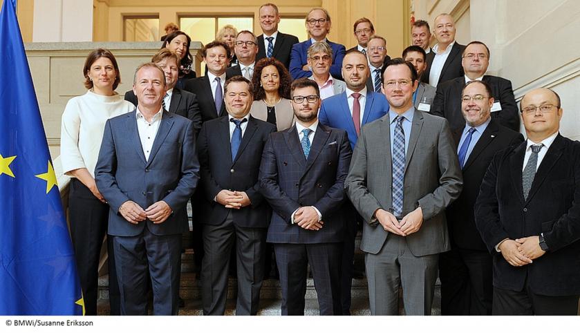 Treffen europäischer Regierungsvertreter und Cloud Label-Initiativen in Berlin