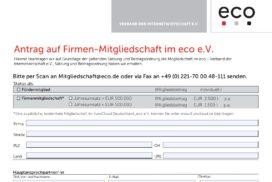 Application Form eco e.V.