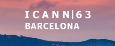 ICANN63   Annual General Meeting