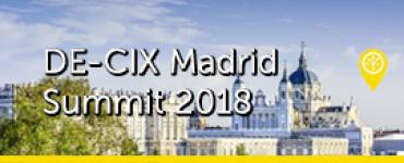 DE-CIX Madrid Summit 2018 1