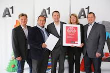 A1 erreicht wieder Bestnoten bei RZ-Zertifizierung Datacenter Star Audit 1