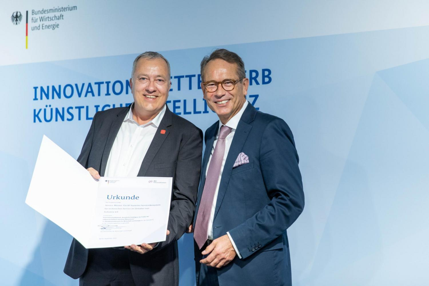 Announcement of Winners of the German AI Innovation Competition 3