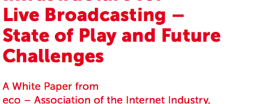 Infrastructure for Live Broadcasting –State of Play and Future Challenges