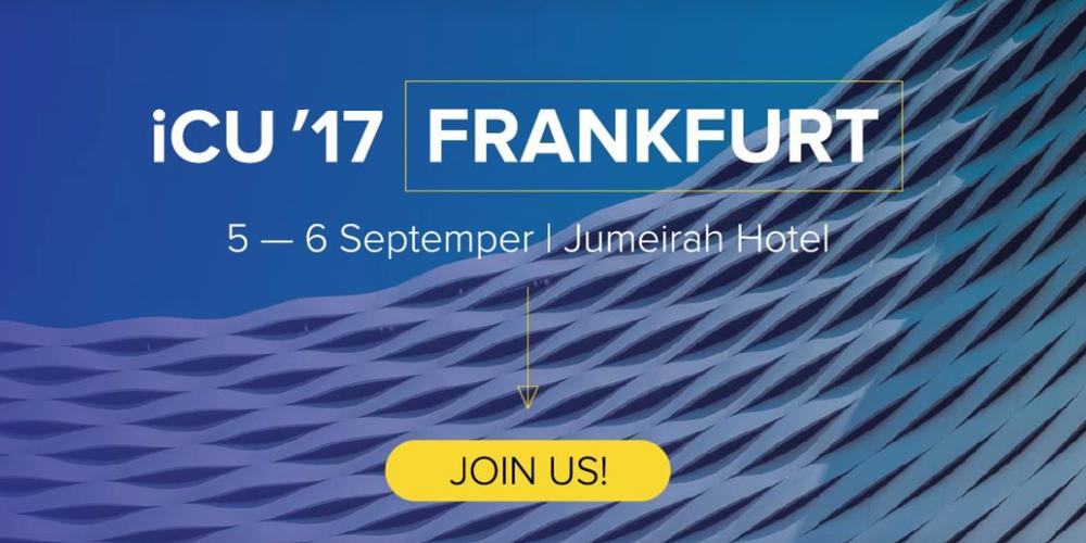 iCU'17 –Frankfurt 1