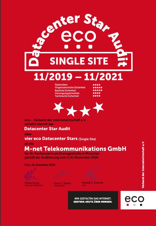 RZ Domagkstraße –  M-net Telekommunikations GmbH, München 2