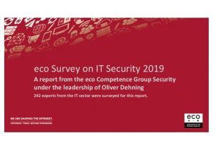 IT Security Study 2019: More and More Companies Planning for IT Emergencies 1