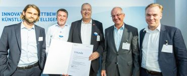 Announcement of Winners of the German AI Innovation Competition