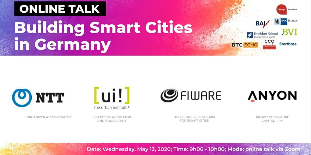 Building Smart Cities in Germany (Online Talk)