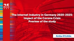 eco Study Shows: Corona Crisis Also Impacts the Internet Industry in Germany – Despite Short-Term Shocks, Long-Term Positive Effects Predominate 1
