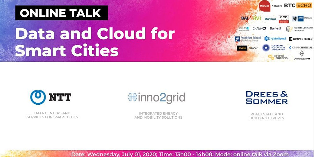 Online Talk: Data and Cloud for Smart Cities