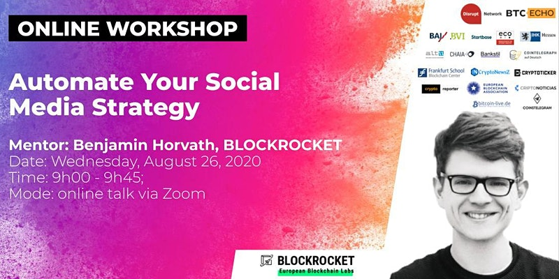 Online Workshop: Automate Your Social Media Strategy
