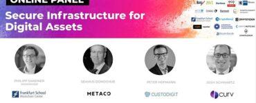 Online Panel: Secure Infrastructure for Digital Assets
