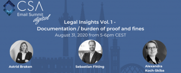 Legal Insights Vol. 1 - Documentation/burden of proof and fines