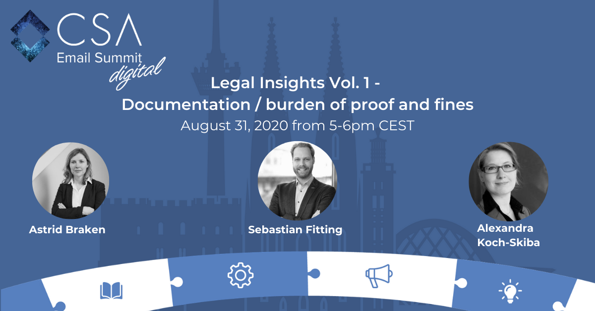 Legal Insights Vol. 1 - Documentation/burden of proof and fines 1