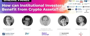 Online Panel: How can Institutional Investors Benefit from Crypto Assets?