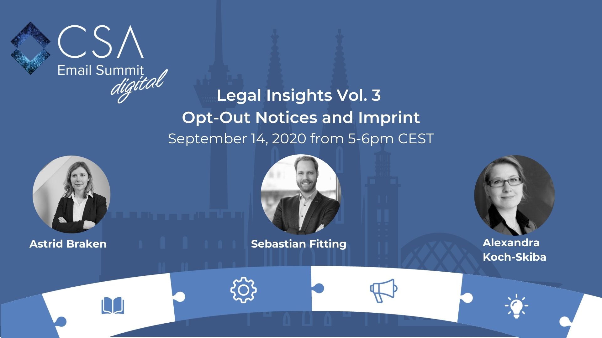 Legal Insights Vol. 3 - Opt-Out Notices and Imprint 1