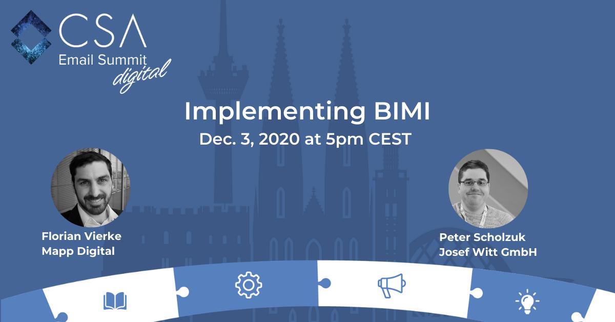 Implementing BIMI