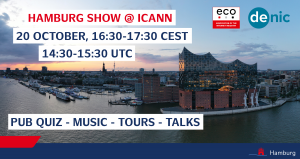 Welcome to Hamburg: Virtual Show at ICANN69