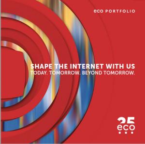 eco Portfolio – shape the internet with us