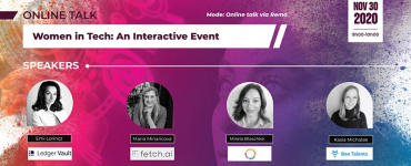 Online Panel: Women in Tech - An Interactive Event
