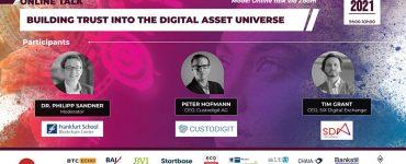 Online Talk: Building Trust into the Digital Asset Universe
