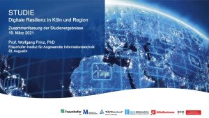Study: 100 Top Decision-Makers Attest to Cologne's Digital Resilience in the Area of Mobile Working